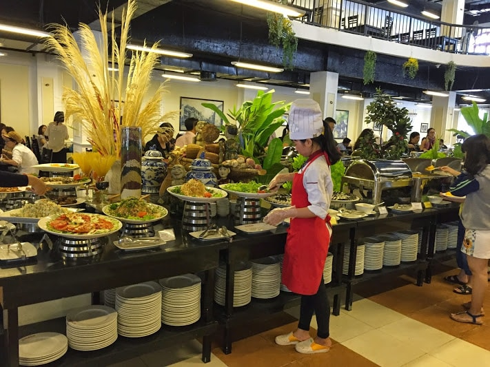 Top nhà hàng ăn buffet ở Bà Nà Hill