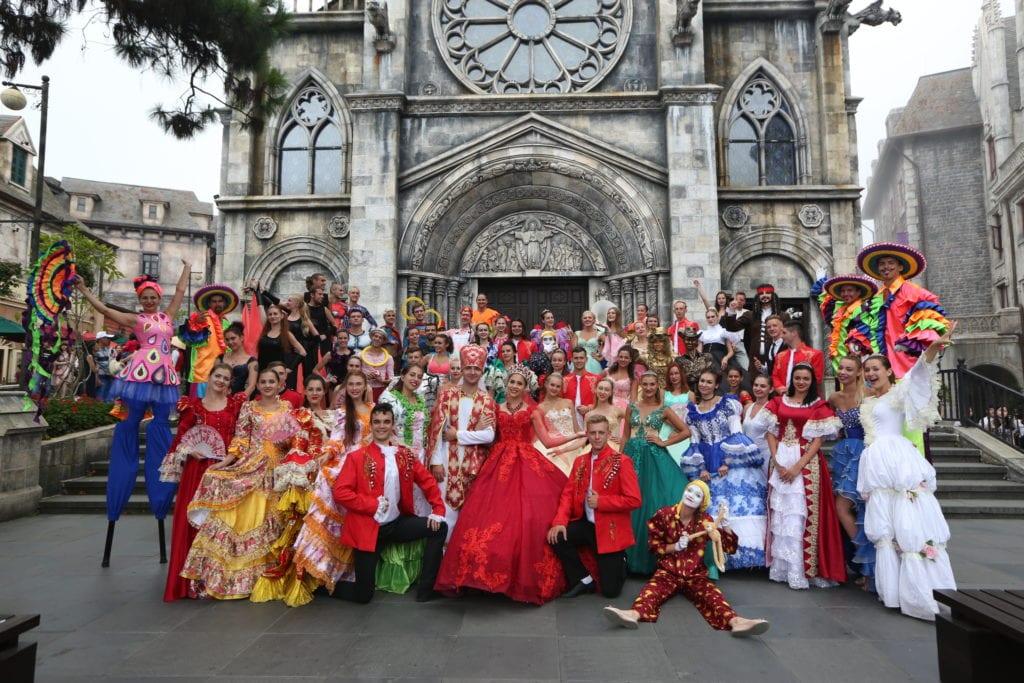 Lễ hội ở Bà Nà Hill